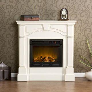 Wynn Ivory Electric Fireplace