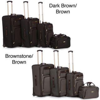 Tommy Bahama Nassau 4 Piece Luggage Set