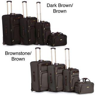 Tommy Bahama Nassau 4 Piece Luggage Set