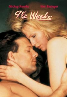 9 1/2 Weeks Kim Basinger, Mickey Rourke, Margaret Whitton