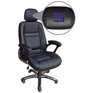 NFL New York Giants Leather Office Chair Sports