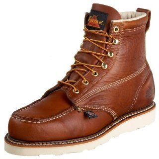 Wing Heritage Mens Classic Work 6 Inch Moc Toe Boot   Leather Shoes