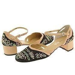 Vaneli Avis T. Moro Linen/Beige Calf Pumps/Heels