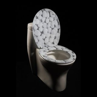 River Rock Designer Melamine Toilet Seat Cover Today $29.79 3.2 (6