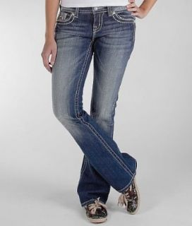 Miss Me Sequin Inset Easy Boot Stretch Jean Med 250 Clothing