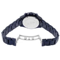 line Womens Amore Navy Blue Aluminum Watch