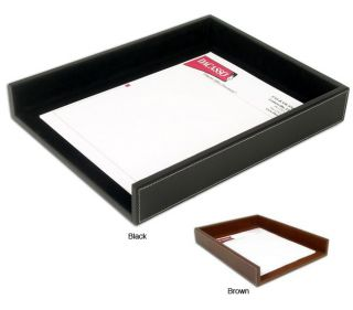 Dacasso Rustic Leather Front load Letter size Tray Today $74.99 5.0