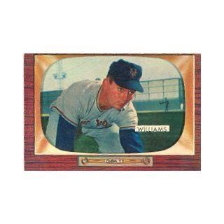 1955 Bowman #138 Davey Williams   EX Collectibles