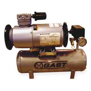 Gast 1LAA 246T M100GX Piston Air Compressor, 1/6 HP, 1 CFM