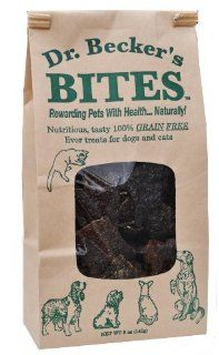 Dr. Beckers Bites Grain Free Liver Treats For Dogs & Cats