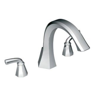 Moen TS243 Felicity Two Handle High Arc Roman Tub Faucet, Chrome