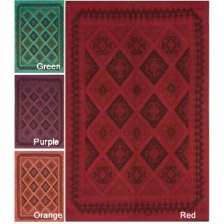 Handmade Flatweave Country Wool Rug (6 x 9) Today $296.99