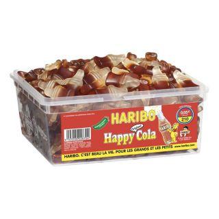 210 pièces   Achat / Vente CONFISERIE DE SUCRE HARIBO Happy Cola 210