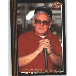 1992 Maxx Black #138 Junie Donlavey   NASCAR Trading Cards