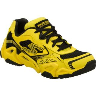 Boys Skechers Air Tricks Fierce Flex Airlude Yellow/Black