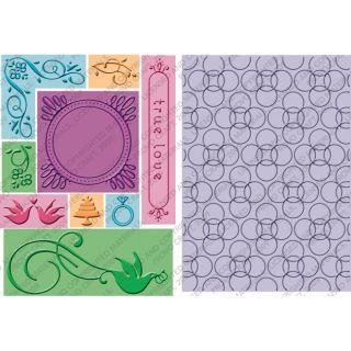 Cuttlebug True Love All In One Embossing Plate