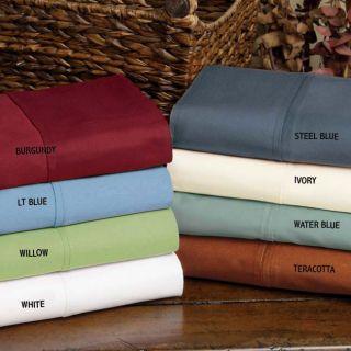 Cotton Sateen 400 Thread Count Sheet Set