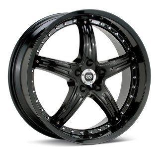 20x8.5 Enkei LS 5 (Black) Wheels/Rims 5x120 (437 285 1240BK)