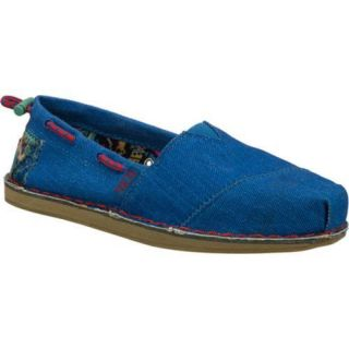 Womens Skechers BOBS Chill Stand Together Blue