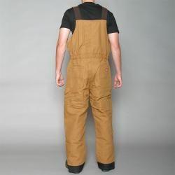 Dickies Mens Premium Insulated Brown Bib Coveralls