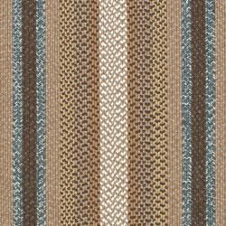 Hand woven Country Living Reversible Brown Braided Rug (8 x 10
