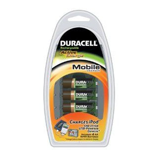 Duracell Akku Mobile Charger CEF23 mit 4x Mignon AA