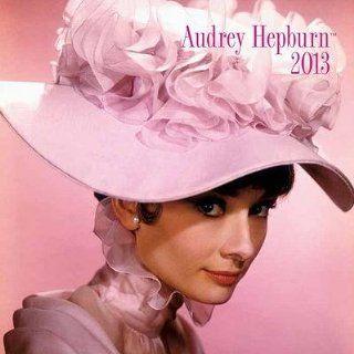 (7x7) Audrey Hepburn   2013 Mini Calendar