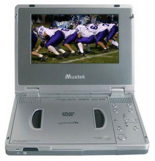 Mustek PL407HM Portable 7 inch Multi region DVD Player