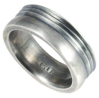 Cai Men Herren Ring 925 Sterlingsilber vintage oxidized Gr. 65 (20.7