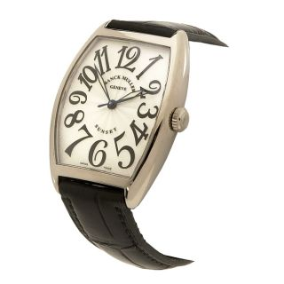 Franck Muller Curvex Sunset Womens 18 kt White Gold Watch