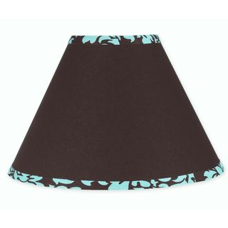 Sweet JoJo Designs Turquoise and Brown Bella Lamp Shade