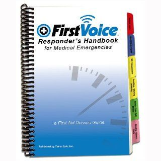 First Voice V10570 140 Pages Color coded First Aid Emergencies
