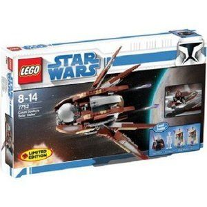 LEGO Star Wars Set 7752 Clone Wars Count Dookus Solar Sailer