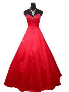 Qpid Showgirl Langes Abendkleid mit Perlen herzförmiger Ausschnitt