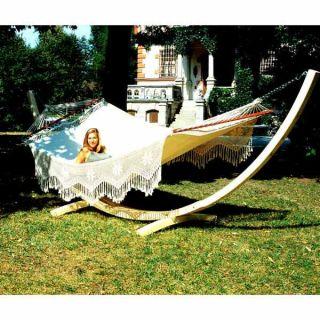 Hamac Grand luxe Palacio blanc   Achat / Vente HAMAC Hamac Grand luxe
