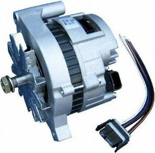85 91 FORD RANGER ALTERNATOR TRUCK, 2.3L(140) L4 (Diesel), w/Std. 40A