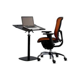 Cotytech Adjustable Ergonomic Black Laptop Desk