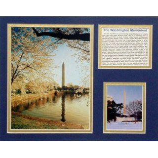 Washington Monument Famous Landmark Picture Plaque