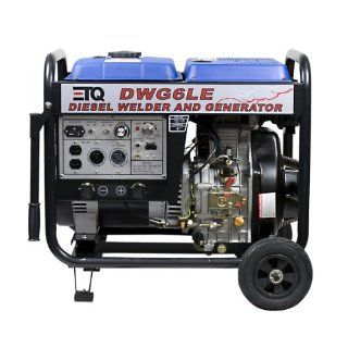 ETQ DWG6LE 3,000 Watt 10 HP 418cc Diesel Powered Portable