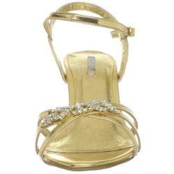 Celeste Womens Mari 01 Gold Sandal
