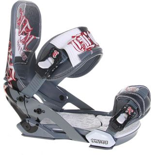 Technine Mens MFM Pro Snowboard Bindings (Size 9 11)