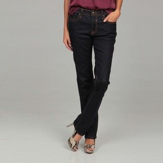 Miss Vigoss Womens Dark Bootleg Jeans