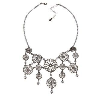 Adrienne Vittadini Islington Bead Bib Necklace
