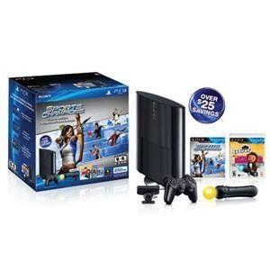 Sony PlayStation 99156 PS3 250GB Move HW Bundle Camera