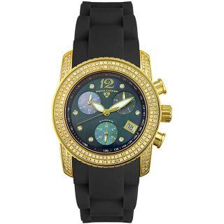 Swiss Legend Womens Black Diamond Watch