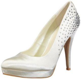 Paco Mena Vicky 04773 Damen Brautschuhe Pumps Schuhe
