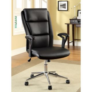 back Leatherette Adjustable Office Chair Today $163.99