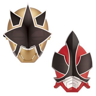 Bandai Power Rangers Fire and Light Mask Bundle