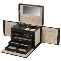 Wolf Designs Chelsea Side Panel Jewelry Case