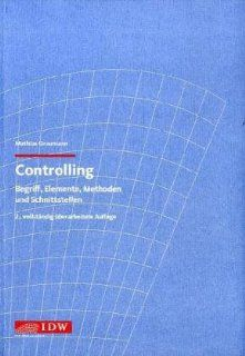 Controlling. Begriff, Elemente, Methoden und Schnittstellen